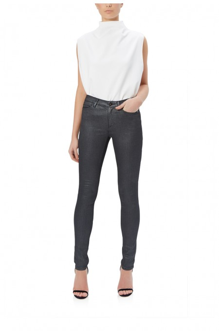 Onyx Coated Grey Skinny