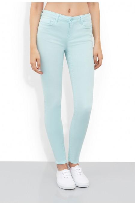 Silicon Blue Skinny Jean