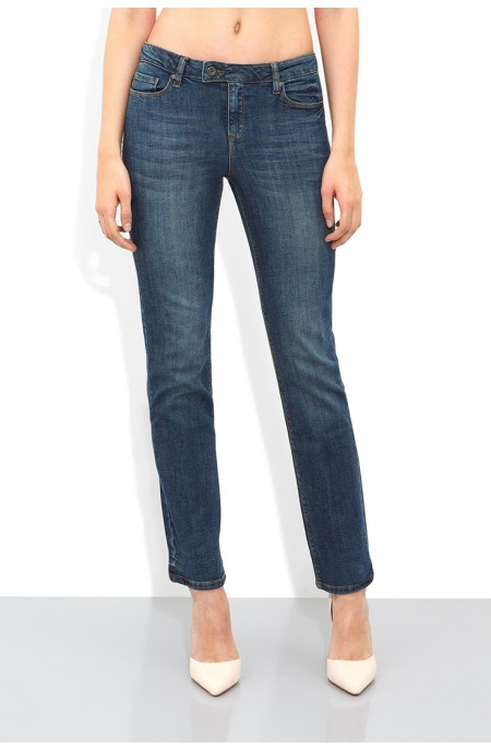 Tanzanite Cowboy Straight Jean