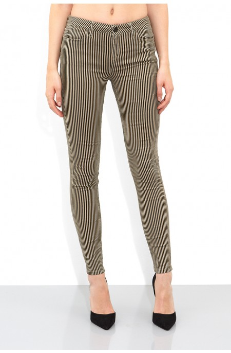 Triplite Stone Striped Skinny