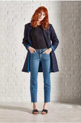 Radon Mid-Wash Cropped Jean