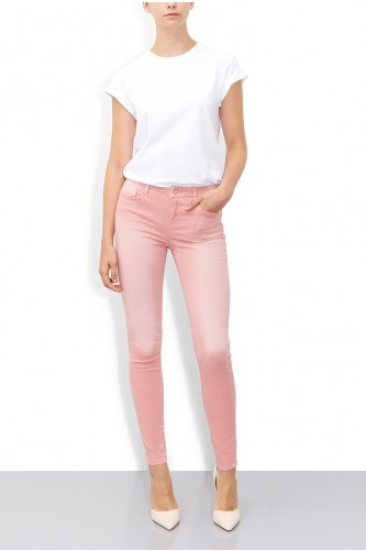 Silicon Pink Skinny Jean