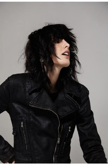 Carbon Eco-Leather Jacket