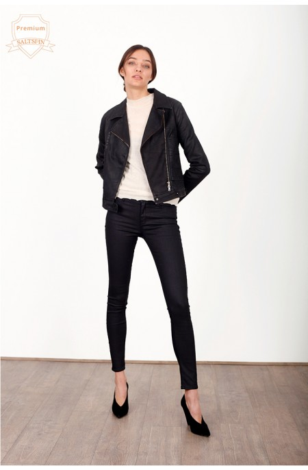 Onyx Coated Black Skinny