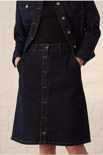 Argon Denim Skirt