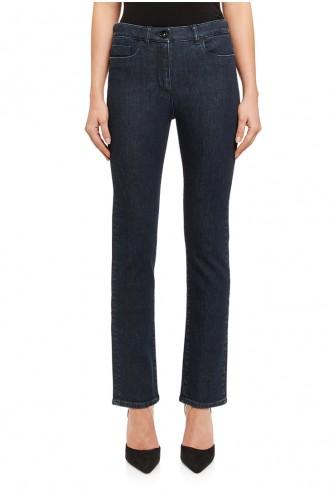 Hydrogen Dark Wash Straight Jean