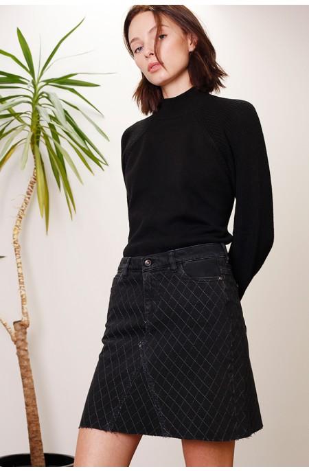 Flint Diamond Stitch Skirt