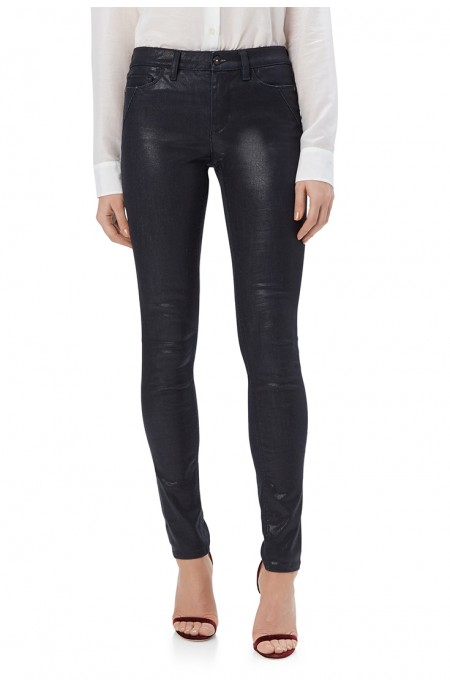 Onyx Coated Navy Skinny